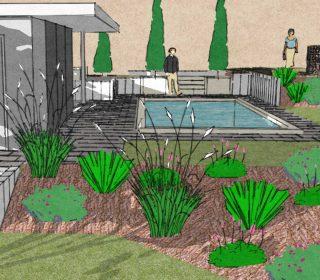 3D Planung des Gartens