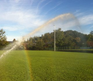 Automatische Bewässerungsanlage