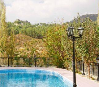 Dachgarten mit Pool