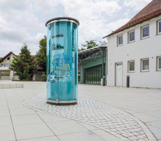 Gestaltung einer öffentlichen Anlage