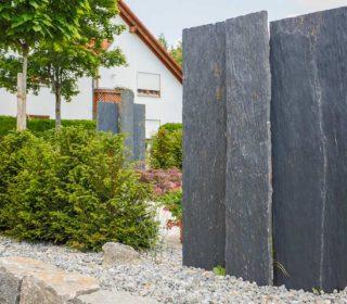 Gestaltungselemente aus Stein