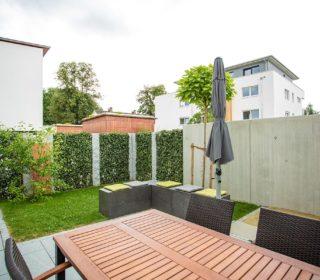 Terrasse mit Sichtschutz