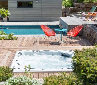 Whirlpool und Living-Pool