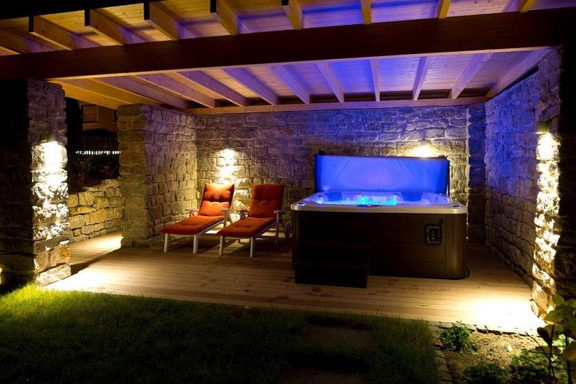 Licht im Garten - Terrasse