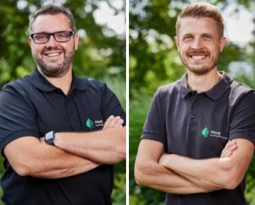 Stefan Hänsler und Patrick Behnert